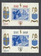 BELGIQUE.  YT   Bloc N° 20/21  Neuf **  1942 - Blocs 1924-1960