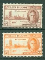 British Virgin Is: 1946   Victory       MH - British Virgin Islands