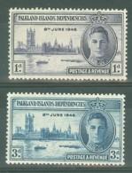 Falkland Islands - Dep: 1946   Victory       MH - Falkland Islands