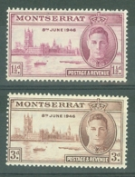 Montserrat: 1946   Victory       MH - Montserrat