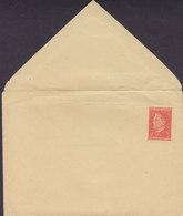 Yugoslavia Postal Stationery Ganzsache Entier 1950, 3 Din Tito Runder Seitenklappen (Unused) - Entiers Postaux