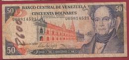 Venezuela 50 Bolivares Du 05/02/1998 Dans L 'état - Venezuela