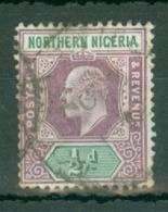 Northern Nigeria: 1902   Edward    SG10    ½d    Used - Nigeria (...-1960)