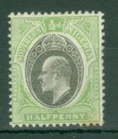 Southern Nigeria: 1903/04   Edward    SG10    ½d    MH - Nigeria (...-1960)