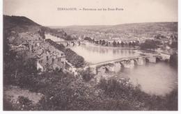 24 Dordogne -  TERRASSON - Panorama Sur Les Deux-Ponts - France