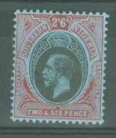 Southern Nigeria: 1912   KGV    SG53    2/6d    MH - Nigeria (...-1960)