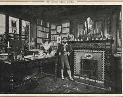 Mr Jean RICHEPIN  RV Pub Grands Magasins De Nouveautés AU PARADIS DES DAMES  Toulouse 26 Rue Alsace Lorraine - Writers