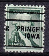 USA Precancel Vorausentwertung Preo, Locals Iowa, Primghar 703 - Vereinigte Staaten