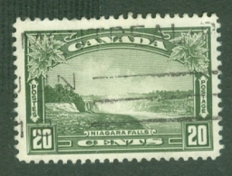 Canada: 1935   KGV - Pictorial   SG349    20c     Used - 1911-1935 Règne De George V