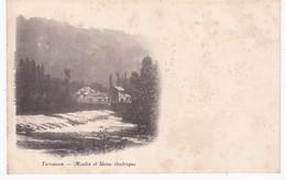 24 Dordogne -  TERRASSON - Moulin Et Usine électrique - Dos Simple - Autres Communes