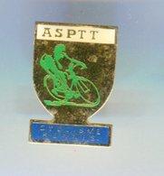 Pin's - Vélo Cyclisme RENNES ASPTT - La Poste - Ille Et Vilaine Bretagne - Cycling