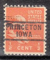 USA Precancel Vorausentwertung Preo, Locals Iowa, Princeton 729 - Vereinigte Staaten