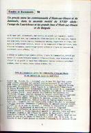 «Un Procès Entre Les Communautés D'HAM-SUR-HEURE Et De JAMIOULX Au Sujet De Laurichoux» -  Article De 10 Pages (1985) - Culture