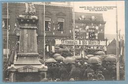 Maretz - Ceremonie De L'inauguration Du Monument De La Grande Guerre Du 18 Septembre 1921 - France