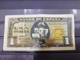 UNA PESETA DE 1940 SERIE-B - [ 3] 1936-1975 : Regency Of Franco