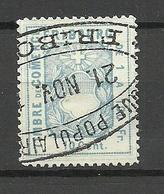 SCHWEIZ Switzerland Canton Fribourg Fiscalmarke 10 Cent Timbre De Comerce O - Steuermarken