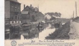 HALLE / KANAAL NAAR CHARLEROI / PENICHES  1914 - Halle