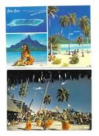Polynésie Française Lot De 5 CPM - Cartes Postales