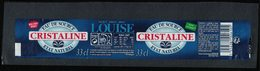 France Etiquette Eau De Source Louise état Naturel Cristaline Bouchon Sport - Etiquettes