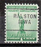 USA Precancel Vorausentwertung Preo, Locals Iowa, Ralston 703 - Vereinigte Staaten