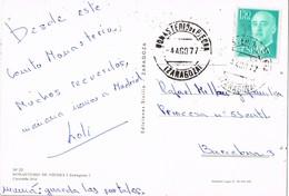 33217. Postal MONASTERIO De PIEDRA (Zaragoza) 1977. Cascada Iris - 1931-Hoy: 2ª República - ... Juan Carlos I