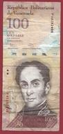 Venezuela 100 Bolivares Du 31/01/2012 Dans L 'état - Venezuela