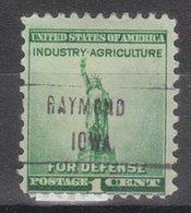 USA Precancel Vorausentwertung Preo, Locals Iowa, Raymond L-1 HS - Vereinigte Staaten