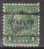 USA Precancel Vorausentwertung Preo, Locals Iowa, Readlyn 632-703 - Vereinigte Staaten