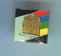 Pin's - BULL EXPRESS Informatique Logo - Computers