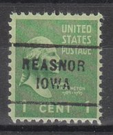 USA Precancel Vorausentwertung Preo, Locals Iowa, Reasnor 712 - Vereinigte Staaten