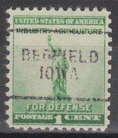 USA Precancel Vorausentwertung Preo, Locals Iowa, Redfield 7031 - Vereinigte Staaten