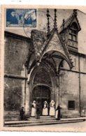 Carte Et Affranchissement Hotel Dieu Beaune- Voir état - 1921-1960: Moderne
