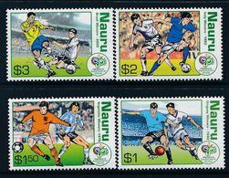 107.Nauru 2006 Set/4 Stamps Fifa World Cup Football.  Mnh - Nauru