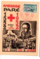 Carte Premier Jour - Ambroise Paré -Metz- Voir état - FDC