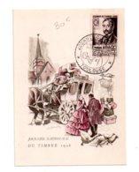 Journée Nationale Du Timbre 1948-Toulouse- Voir état - FDC