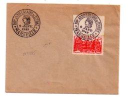 100° Anniversaire Du Timbre -Marseille-1949- Voir état - Postmark Collection (Covers)