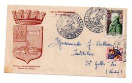 Fête Du Cent Cinquantenaire Roche Sur Yon- 1954-voir état - Marcophilie (Lettres)
