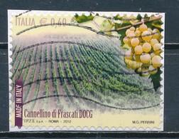 °°° ITALIA 2012 - VINI - CANNELLINO DI FRASCATI DOCG °°° - 1946-.. République