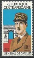 "Centrafrique YT 148 "" Général De Gaulle "" 1971 Neuf** - Repubblica Centroafricana"