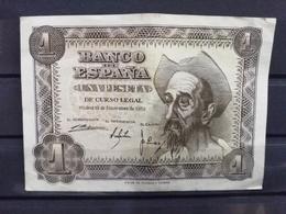 UNA PESETA DE 1951. QUIJOTE - [ 3] 1936-1975 : Regency Of Franco