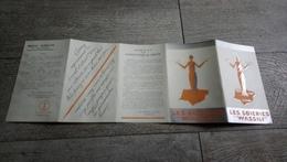 Brochure Publicitaire Les Soieries Wassili Amplepuis Rhone échantillons Tissus  Mode - Non Classés