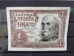 UNA PESETA DE 1953. SIN SERIE - [ 3] 1936-1975 : Regency Of Franco