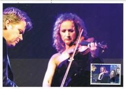 33222. Tarjeta Maxima OSLO (Noruega) Norge 2010. Musik, SECRET GARDEN, Violin, Folk - Maximum Cards & Covers