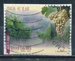 °°° ITALIA 2012 - VINI - GRECO DI TUFO DOCG °°° - 1946-.. République