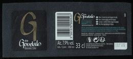 France Lot 2 Etiquettes Bière Beer Labels G De Goudale Grand Cru - Beer