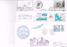 ANTARCTIQUE TOUS PAYS : Important Lot De 65 Plis Et 10 Cartes Postales. - Unclassified