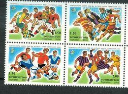 107.Tajikistan 2006 Set/4 Stamps Fifa World Cup Football.  Mnh - Tagikistan