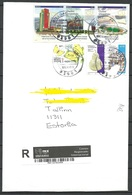 MEXICO 2019 Registered Letter To Estonia NB! - Messico