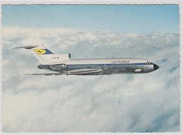 Boeng 727 - Lufhansa Erstflug - Haburg-Düsseldorf-Zürich - 1966        (A-89-100922) - 1946-....: Era Moderna