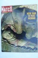 Paris Match N° 1024 Du 21 Dec 1968 - Notre Dame De Paris Inconnue - General Issues